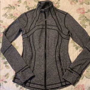 Lululemon Athletica Define Jacket- Heathered Black